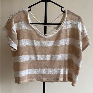 Cropped Sweater.